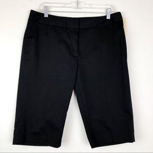 NWT Nordstrom Classiques Entire Black Shorts Sz 12